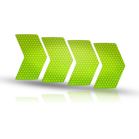 rie:sel design re:flex Reflective Stickers for Rims, lime